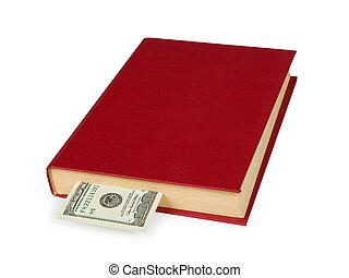 Money in book