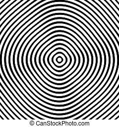 círculos, patrón, Extracto, patrón, textura, anillos,  /, Monocromo, concéntrico, geométrico,  circular