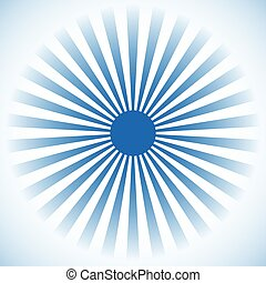 Starburst, sunburst background. Radial lines, stripes with...