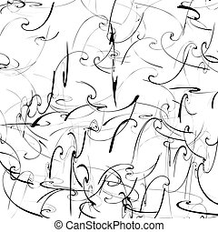 Artistic pattern with curvy distortion effect. Abstract...
