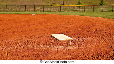 First Base in Graded Baseline - First base in the baseline...