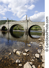 General Wades Bridge in Aberfeldy Perth and Kinross Scotland...