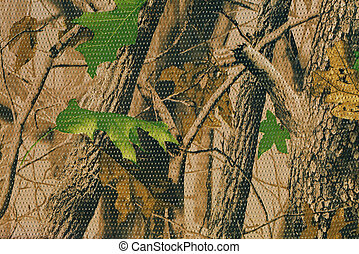 Camouflage pattern for hiding, disguising. Detailed texture of dried leaf