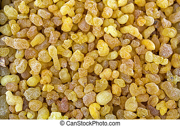 Aromatic yellow resin gum from Sudanese Frankincense tree,...