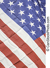 American flag Red white and blue colors