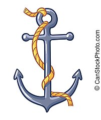 Anchor on a white background.