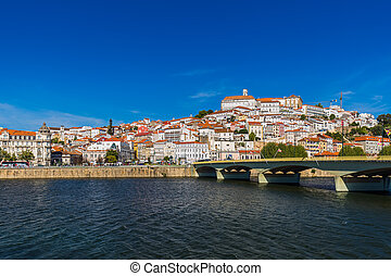 Coimbra old town - Portugal - Coimbra old town in Portugal -...
