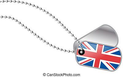UK dog tag