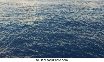 sea or ocean water - seascape and nature concept - sea or...