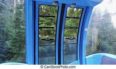 Gondola in the mountains - Gondola ride in the mountains...
