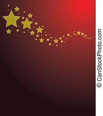 star background - a colourful star background