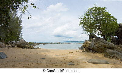 Common Andaman coast on Phuket Island.