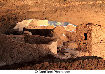 Gila Cliff Dwellings National Monument - Ancient Mogollon...