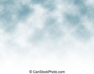 Misty background - Editable vector misty background made...