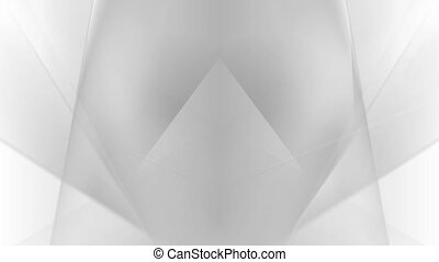 Abstract grey white stripes video animation - Abstract grey...