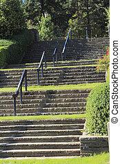 Rose Garden Stairs