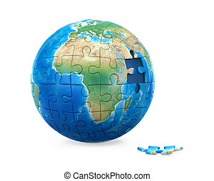 Puzzle Planet Earth