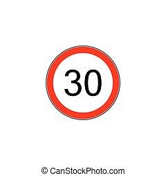 Prescribed minimum speed oad sign - Prescribed minimum...