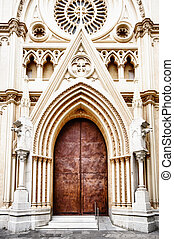 Church in Malaga - Sagrado Corazon church in Malaga,...