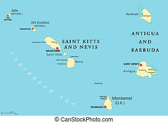Saint Kitts, Nevis, Antigua, Barbuda and Montserrat...