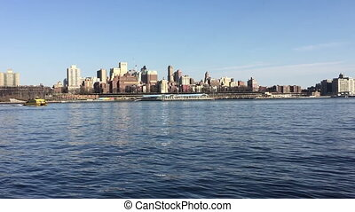 Water View From Hudson River Park - Shot of Water View From...