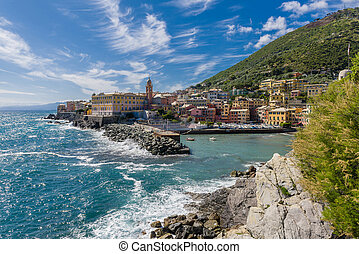 The Promenade of Nervi - Nervi, a part of Genoa, with its...