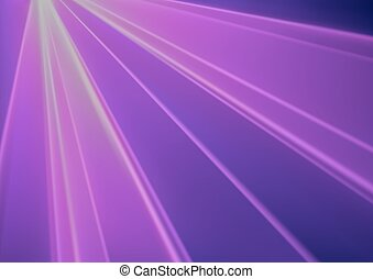 Purple Disco Light Laser Effect - Abstract Background...