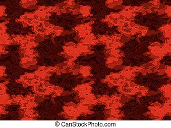 Red Repetitive Texture