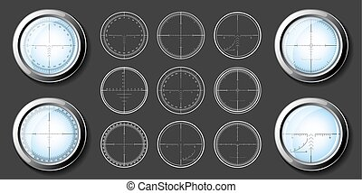 Sniper  crosshairs set