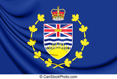 Flag_of_the_Lieutenant-Governor_of_British_Columbia - 3D...