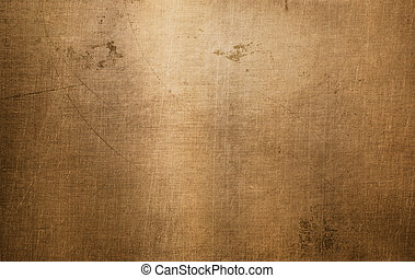 Bronze or copper metal texture - Bronze or copper brushed...