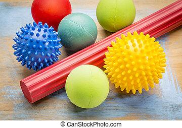 self massage and reflexology therapy balls - self massage...