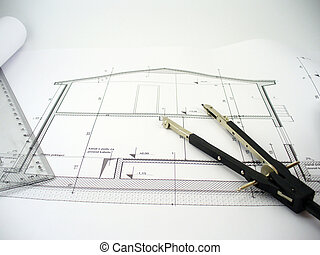 house plan - house blueprints