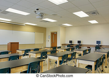 Classroom in Middle School