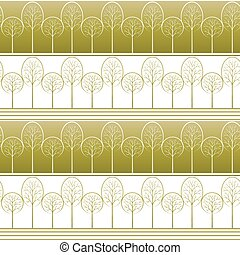 Trees, Seamless Background - Seamless Striped Background...