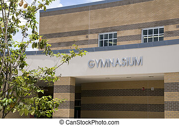 Gymnasium at Middle School in Florida.