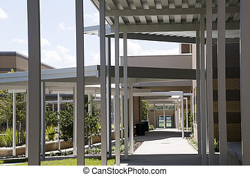 Canopies at Middle School