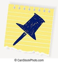 Doodle Thumbtack