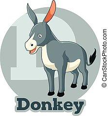 ABC Cartoon Donkey