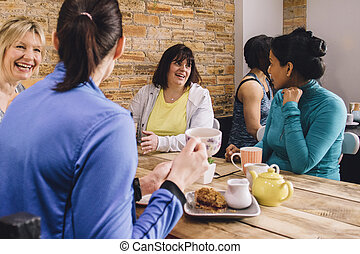 Catch Up Coffee And Cake
