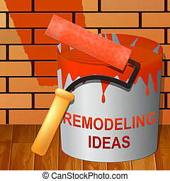 Remodeling Ideas Showing Diy Improvement Suggestions 3d...