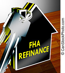 FHA Refinance Means Federal Housing Administration 3d...