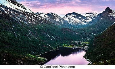 Fjord vilage