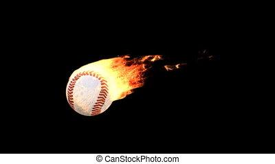fire baseball