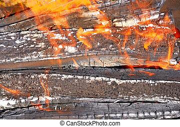 Image de br ler br l feu de les restes s ch conseils csp1017 - Reste de bois brule synonyme ...
