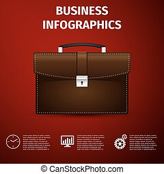 Business infographics. Vector Illustration.