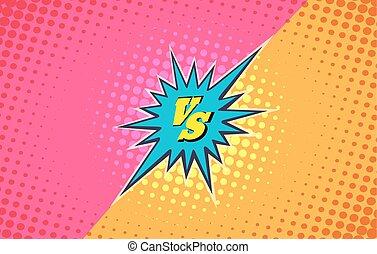 Versus duel fighting background - Versus duel fighting comic...