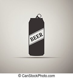 Beer Can Icon.
