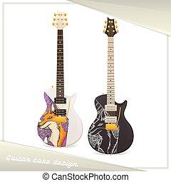 Design Guitar Case Fox