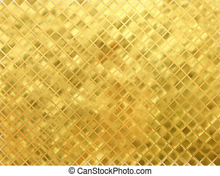 Golden mosaic vector background EPS 8 vector file included